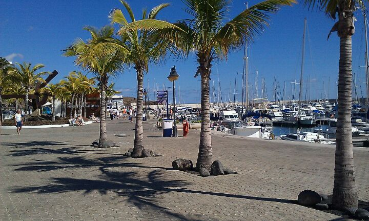 Puerto Calero Yacht Marina in  Lanzarote. Had a wonderful villa holiday here.October 2014