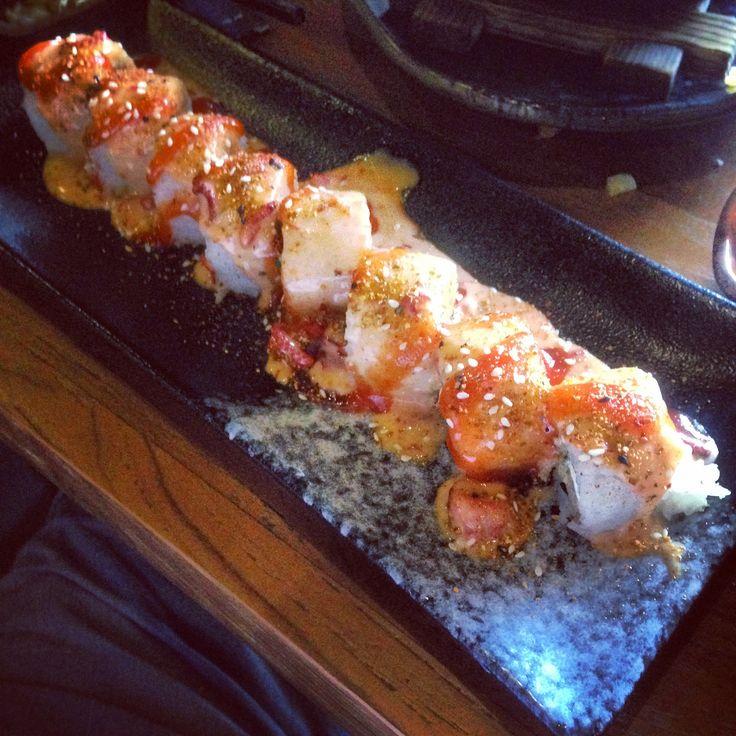 Flame Mentai Roll