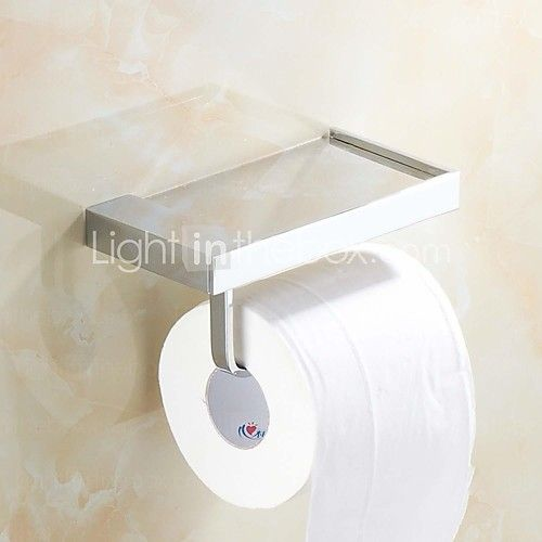 Toilet Paper Holder Chrome Wall Mounted 170*90mm(6.69*3.54inch) Brass Contemporary 2016 - $30.59