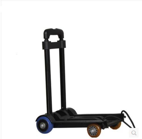 New arrival portable four wheel cart luggage folding cart car portable shopping cart trolley car