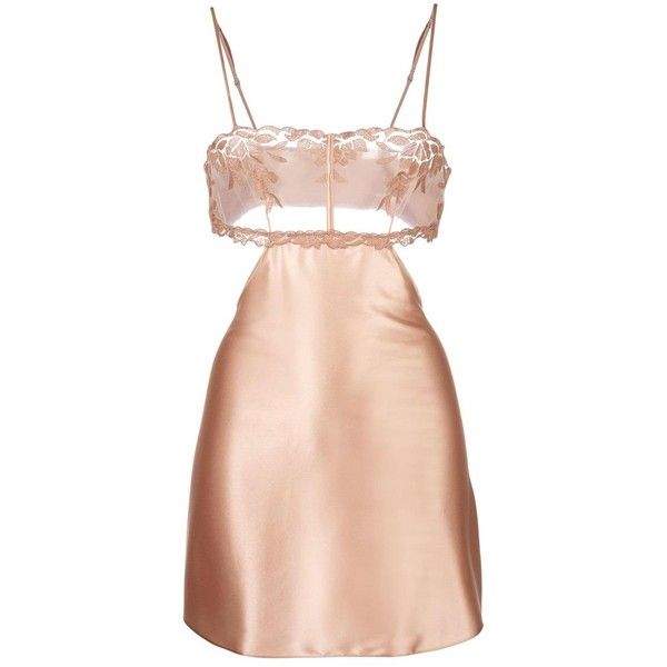 La Perla 'Morgane' camisole ($335) ❤ liked on Polyvore featuring intimates, camis, dresses, lingerie, beige, cami lingerie, la perla, nude lingerie, lingerie camisole and la perla lingerie