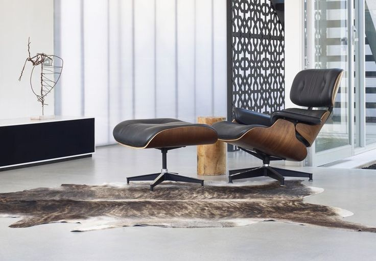 DiiiZ - Verkoop van design meubilair - Charles and Ray Eames lounge Stoel 671 promotie in February!