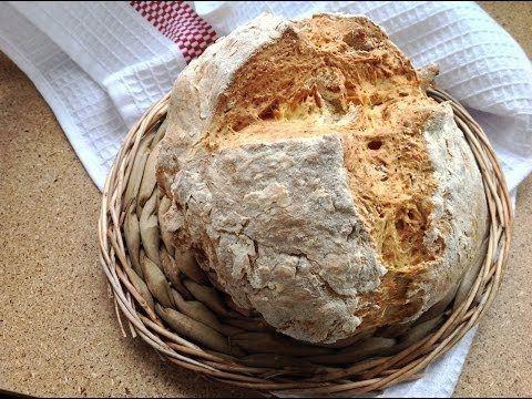 Хлеб на йогурте или пахте (без дрожжей) / Ирландский содовый хлеб - YouTube