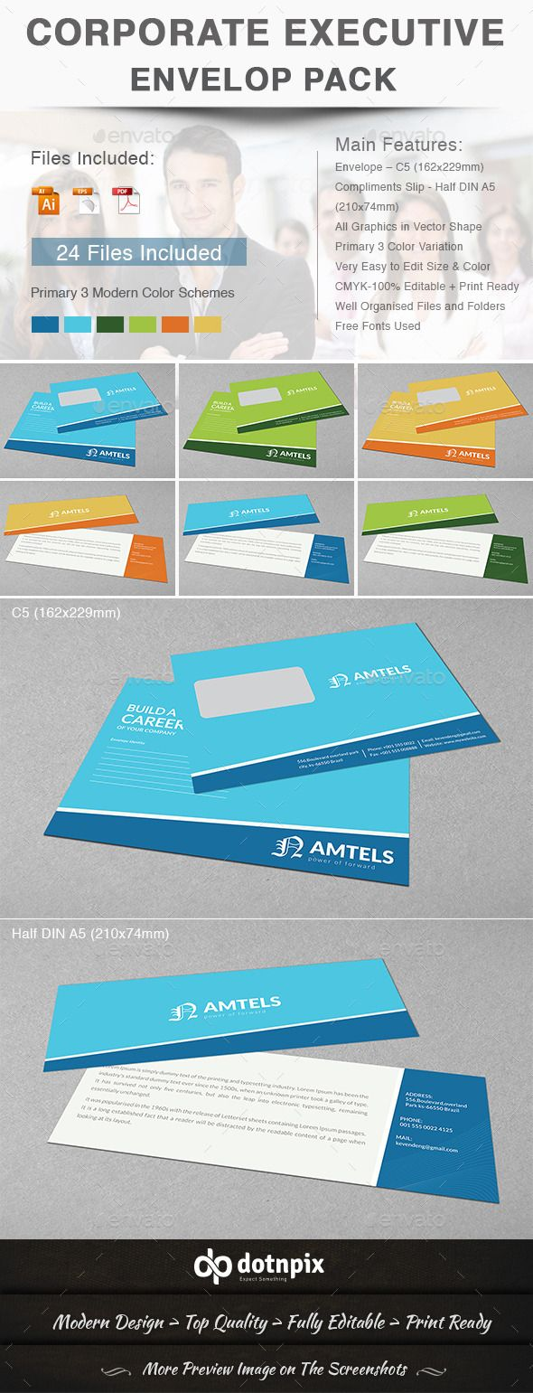 Corporate Executive Envelop Pack