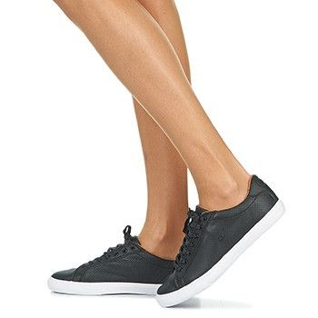 Zapatillas sneakers de cuero negras
