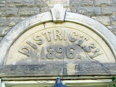 1896 - Bichet School, District 34 - Florence, Kansas - Dated Buildings and Cornerstones on Waymarking.com