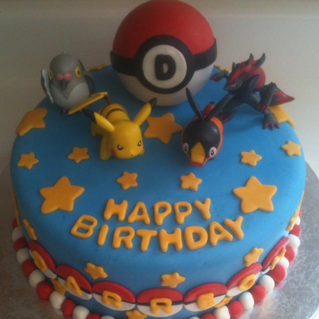 Pokemon cake we did