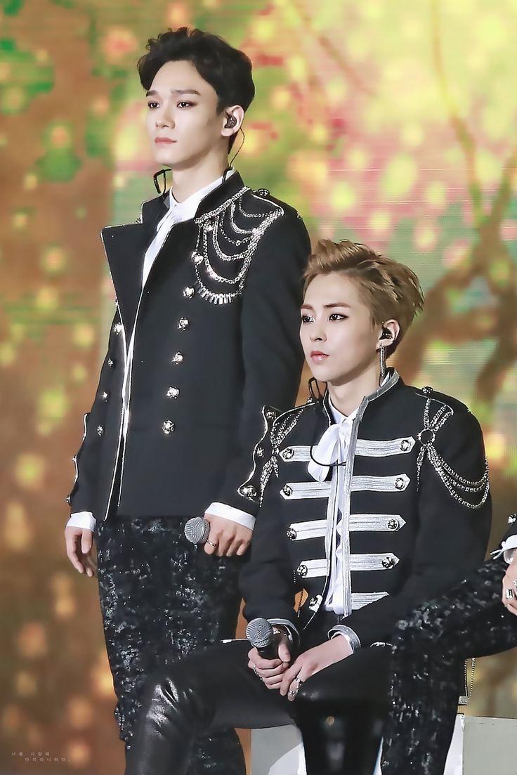 14.01.17 Chen e Xiumin @ Golden Disk Awards 2017
