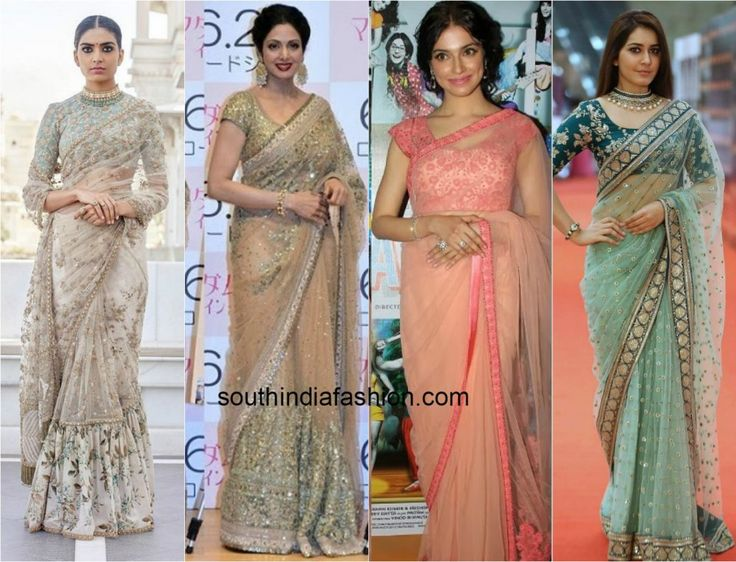 Must Have Designer Sarees for Your Summer Parties This Year