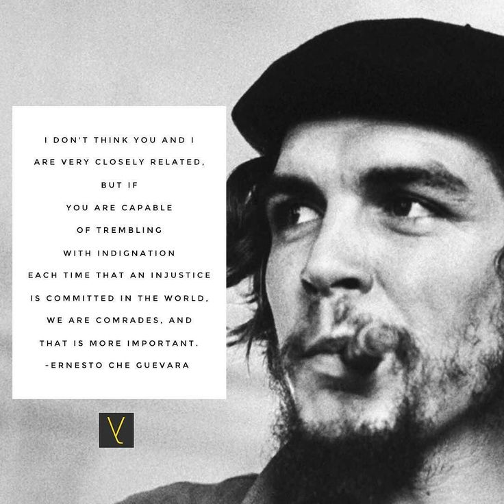 I dont think you and I are very closely related but if you are capable of trembling with indignation each time that an injustice is committed in the world we are comrades and that is more important.  Ernesto Che Guevara __ ernesto che guevara: revolutionary leadership - to read the full post click link in bio. // Ellie Parvin // @ellieparvin  __ #everythingtheydid #leadership #leader #leaders #worldchangers #societyrebel #generosity #trendsetters #influencer #boss #career #innovative…