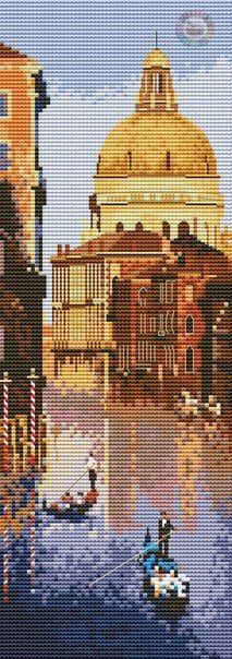 Венеция - Вышивка
