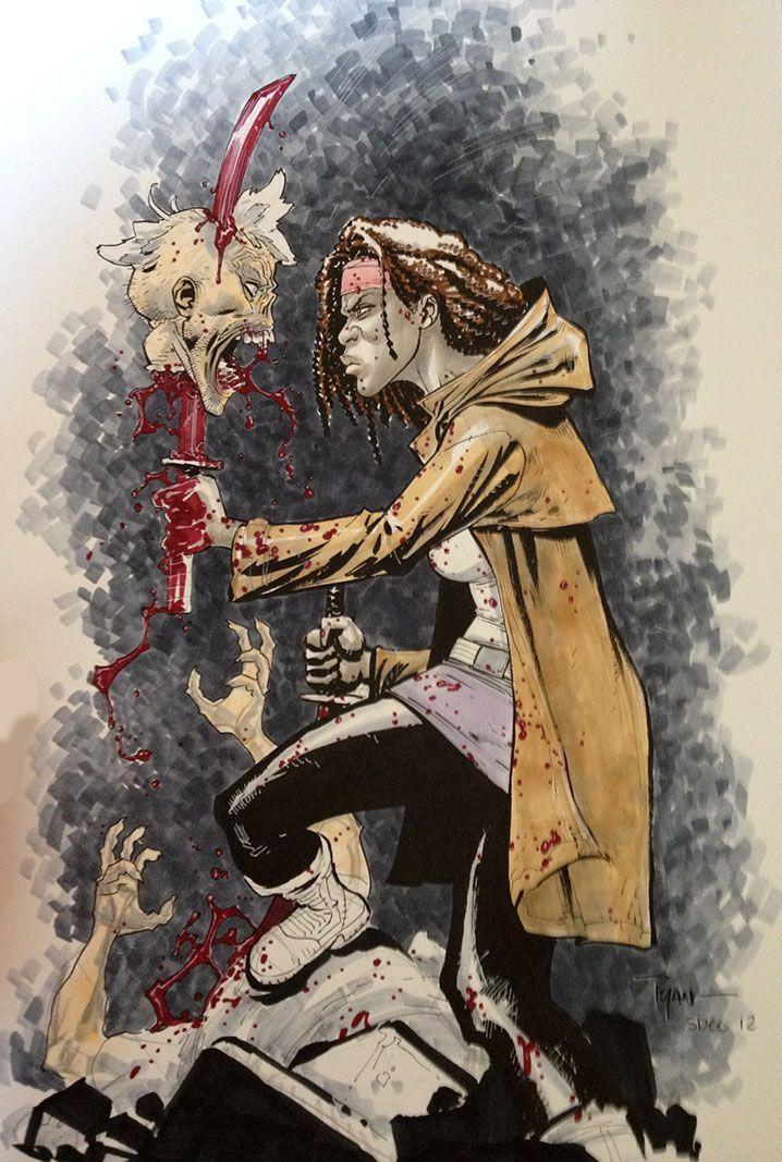 Walking Dead Ilustraciones