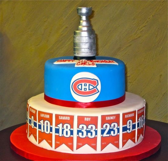 I have to make this for my man's hockey team!!