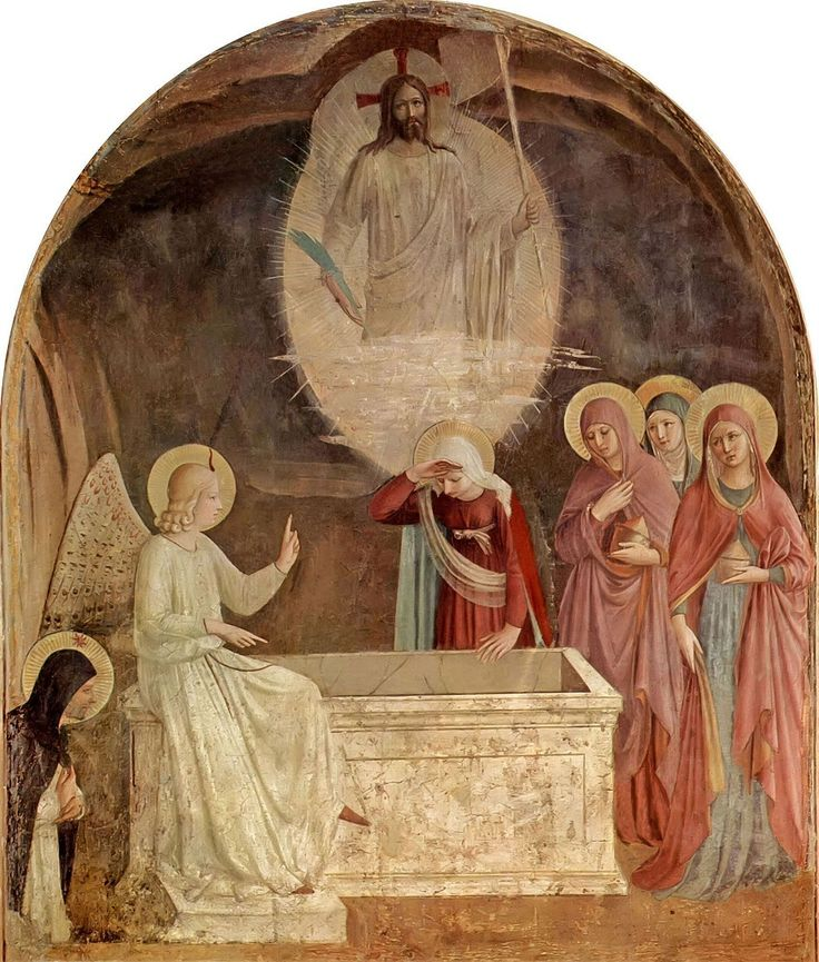 Resurrection of Christ and the Women at the Tomb Fra Angelico, 1441