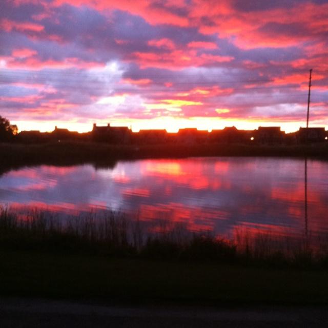Sunrise. Collingwood, Ontario
