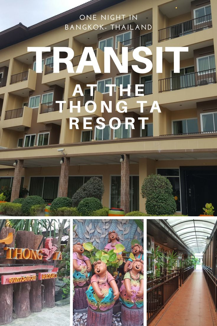 When you need a smooth transit in Bangkok, stay at the Thong Ta Resort for a great budget stay in Thailand.