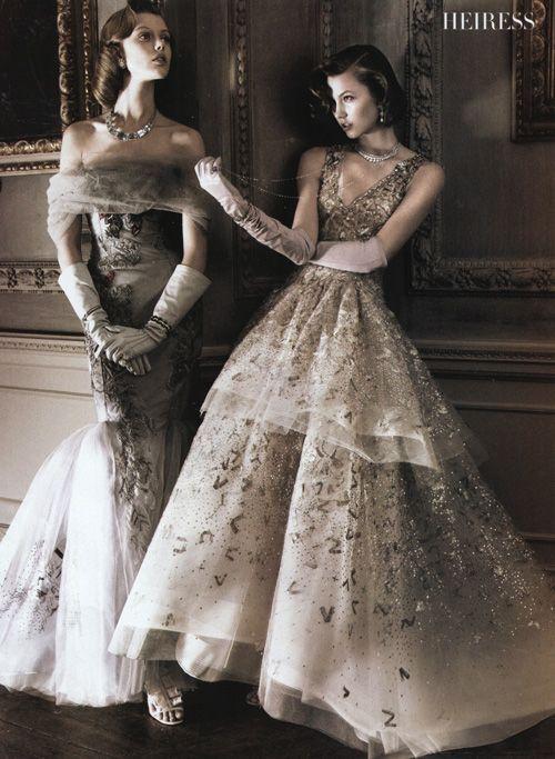 .: Vintage Gowns, Kar Klos, Ball Gowns, David Sims, Carolina Herrera, Karlie Kloss, Victorian Dresses, The Dresses, Frida Gustavsson