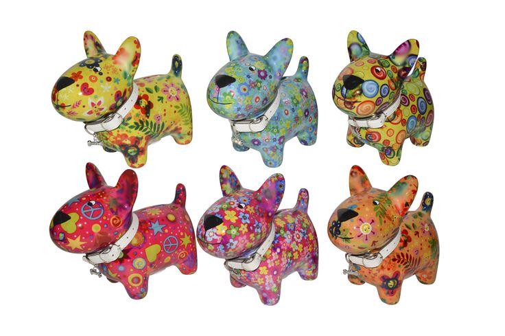 Spaarpot Hond Oscar van Pomme-Pidou te koop bij webshop www.toefwonen.nl http://www.toefwonen.nl/c-2216947/pomme-pidou/