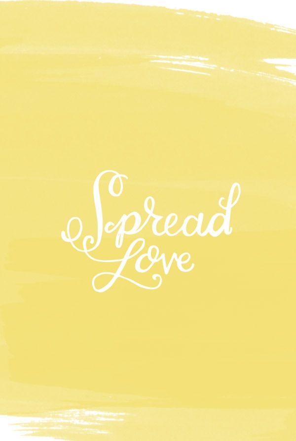 Spread Love Around
