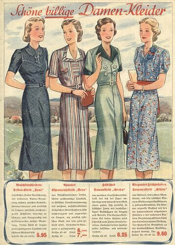 pin auf mode 1930