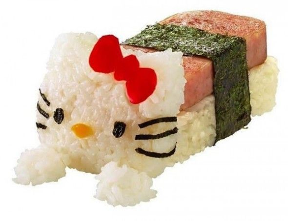 Sushi hello kitty