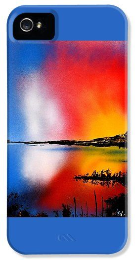 Dawn Twilight IPhone 5 / 5s Case Printed with Fine Art spray painting image Dawn Twilight by Nandor Molnar (When you visit the Shop, change the orientation, background color and image size as you wish)