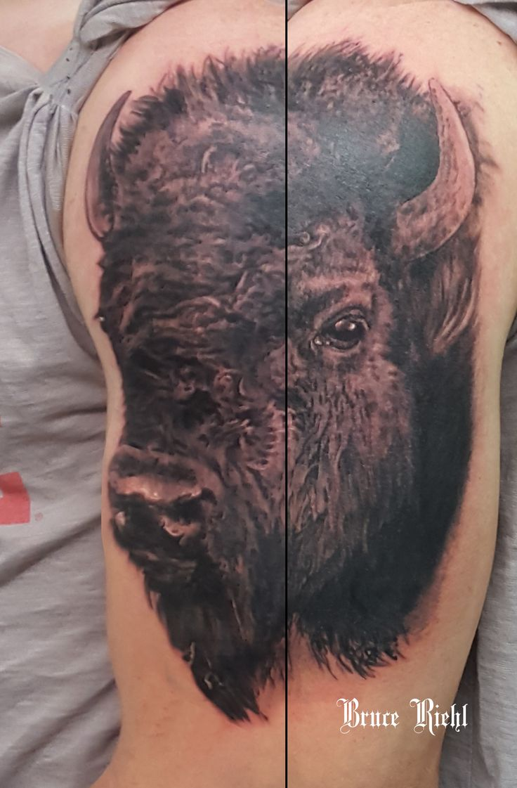 71 best images about tattoos and buffalo on pinterest for Tattoos of buffaloes