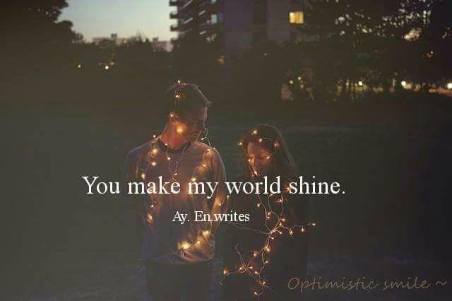 You make my world shine. via (http://ift.tt/2kzHjmF)