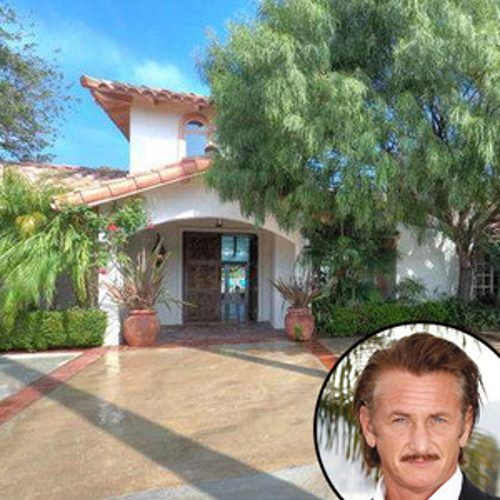 Sean Penn Lists Private Malibu Mansion For $6.5 Million