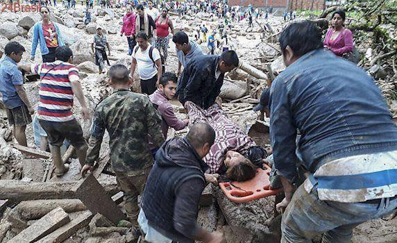 Avalanche mortal após chuvas: Deslizamento na Colômbia mata ao menos 112, diz Cruz Vermelha