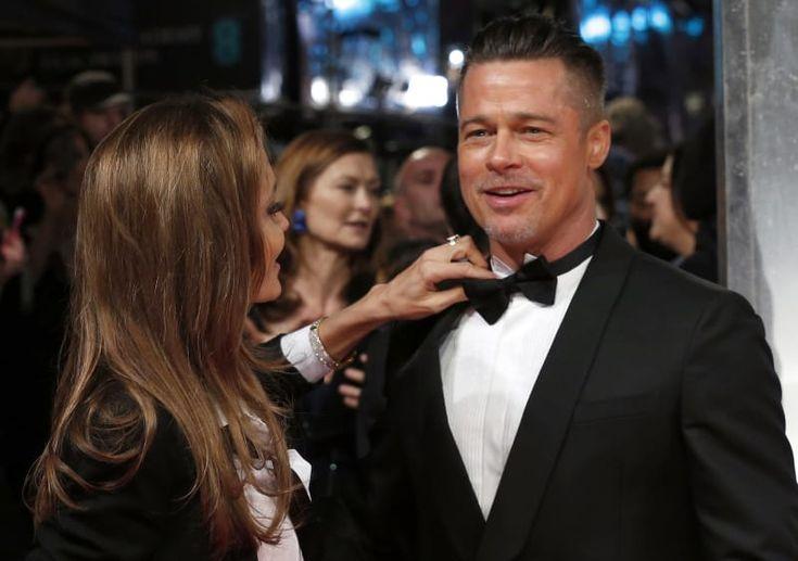 La pareja llega a la entrega de premios de la Academia Británica de las Artes Cinematográficas y de la Televisión (BAFTA, por sus siglas en inglés) en la Royal Opera House de Londres, 2007.