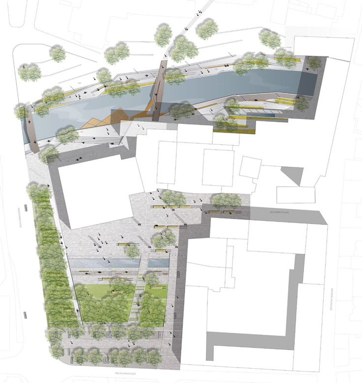 231 best architecture plans floor plans site plans for Site plan with landscape
