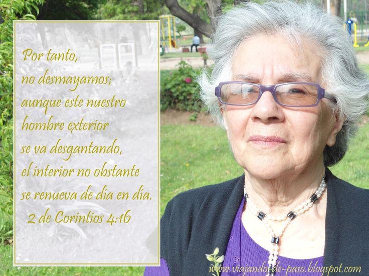 "Viajando de Paso: ""Homenaje a nuestra amada Madre"".  2da de Corintio..."