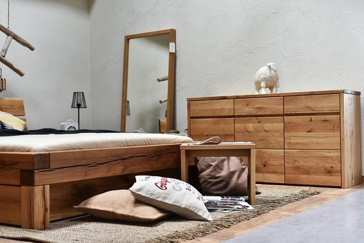 meble do sypialni z drewna dębowego - kolekcja Dream Bedroom