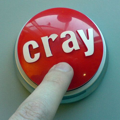 Cray button. Family Force 5 song. I think I need this button.