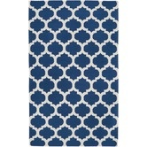 Found it at Wayfair - Frontier Mediterranean Blue/Winter White Rug