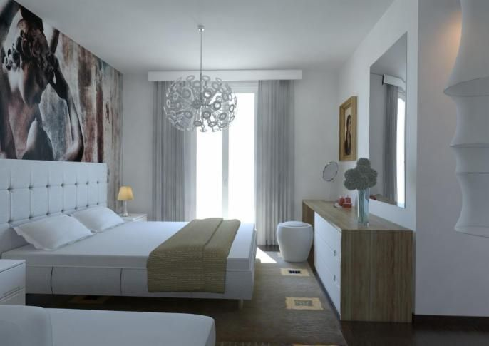 Family home contest by Massimo Rinaldo architetto with Moooi Dandelion and Flos Miss K