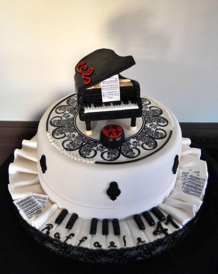 Cake Design Strumenti Musicali : Grand piano cake, torta pianoforte Piano Pinterest ...
