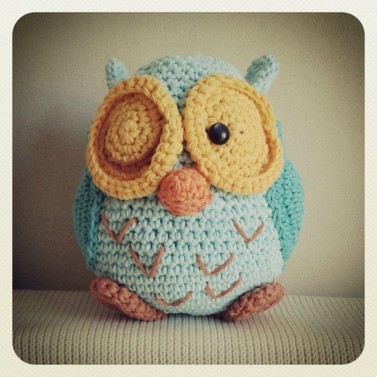 17 migliori immagini su owls crochet su Pinterest ...