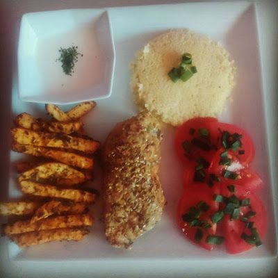 Pysznie i Zdrowo: Kurczak w pysznej panierce z frytkami z selera