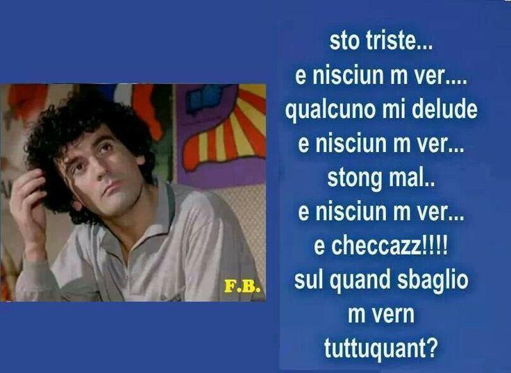 Massimo Troisi #frasi #scherzo #fun #quotes #love #humor