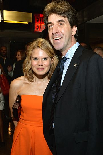 Celia Keenan-Bolger and Jason Robert Brown at the 2014 Tony Nominees Luncheon @Paramount Hotel on May 20.