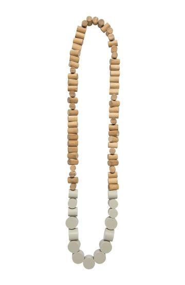 Cylinder Women's Necklace   Elk