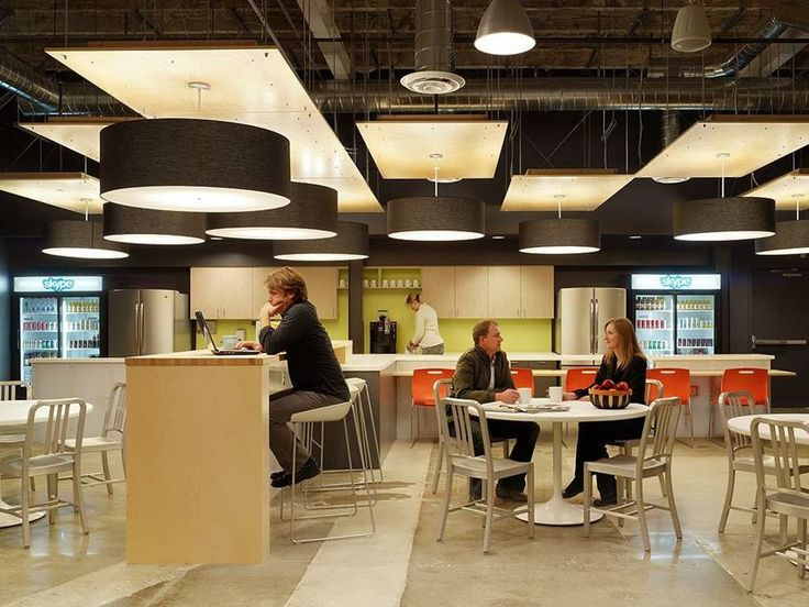Trụ sở chính Skype tại Bắc Mỹ do Blitz thiết kế - Nhà bếp