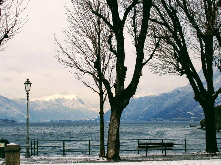 #Włochy #Lecco #Jezioro #Como #italia #italy #lombardia #alpy #północne #widok #krajobraz #romantycznie #drzewa