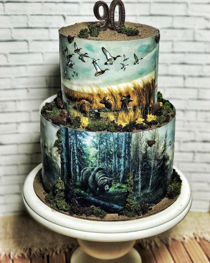 279 отметок «Нравится», 37 комментариев — ТОРТЫ И ДЕСЕРТЫ НА ЗАКАЗ (@ksenya_bandysik) в Instagram: «Второй раз в жизни довелось делать торт для охотника ,первый был очень забавный(с медведем из…»