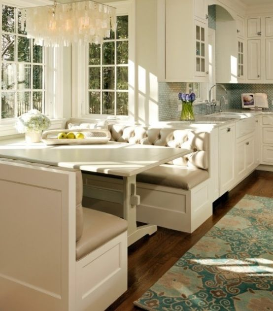 Kitchens, Breakfast Nooks, Dream House, Kitchen Nook, Kitchen Table