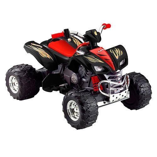 "Power Wheels Fisher-Price Kawasaki Quad KFX Ride On - Hot Wheels - Power Wheels - Toys ""R"" Us"
