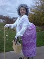 Image result for old lady costumes