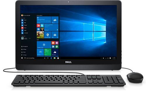DELL PC AIO INSPIRON 3264, 21.5 LED FHD 1920X1080PIX NON-TOUCH IPS, INTEL CORE I3-7100U (2.4 GHZ, 3M